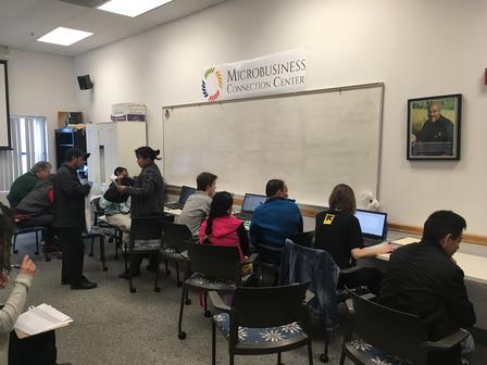 Refugees and immigrants access free tax services through the International Rescue Committee in Salt Lake City's VITA clinics