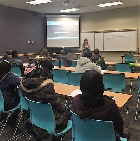 Tara Leung, asset building coordinator at the International Rescue Committee in Salt Lake City, taught over 60 prospective home buyers about buying a home in the US.