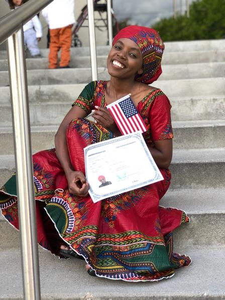 The International Rescue Committee in Salt Lake City supports the efforts of refugees and immigrants to become U.S. Citizens