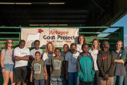 The International Rescue Committee in Salt Lake City is part of the East African Refugee Goat Project.
