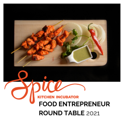 Spice Kitchen Incubator with the International Rescue Committee in Salt Lake City hosts the 2021 Food Entrepreneur Round Table event for local food businesses and networking.