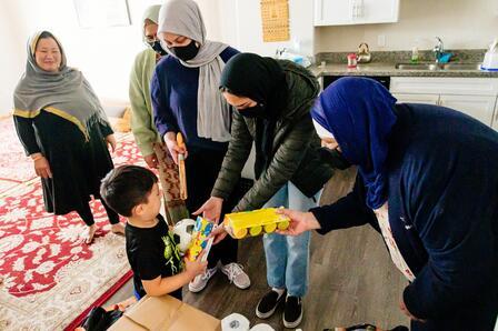 The Al-Mustafa Foundation of Utah delivers gifts to children celebrating Eid al Fitr