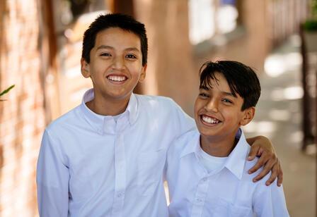 Venezuelan  brothers Leander and Jesus wrote Un Sueño Tricolor to raise money for a cafeteria in Venezuela.