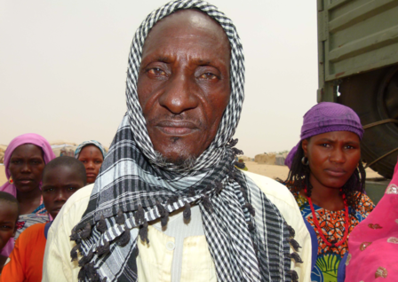Nigerian refugee displaced in Diffa