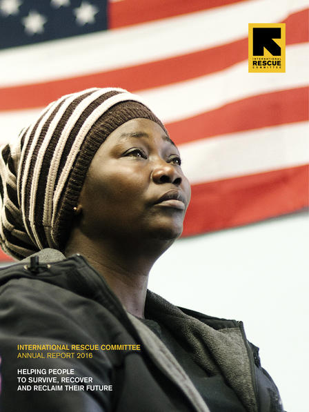 International Rescue Committee Annual Report 2016 cover