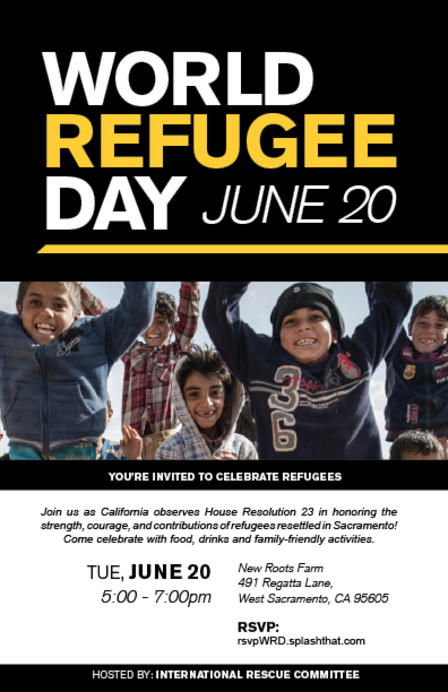 World Refugee Day - 20 June  IMAGES, GIF, ANIMATED GIF, WALLPAPER, STICKER FOR WHATSAPP & FACEBOOK
