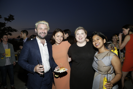 Partygoers at the Seventh Annual GenR Summer Party.