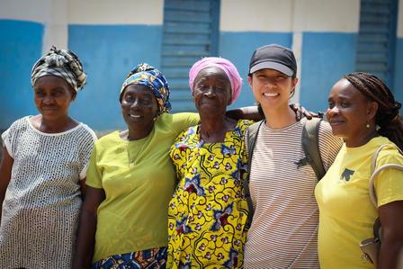 GenR members visited Women's Action groups in Sierra Leone.