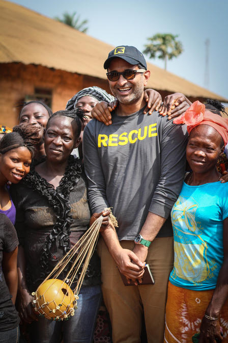 GenR members were welcomed by IRC staff and beneficiaries in Sierra Leone.