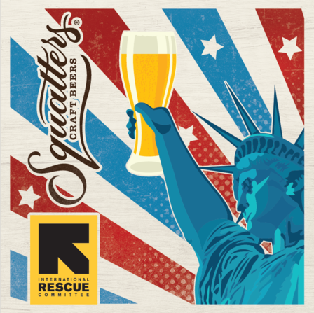 Squatters and Wasatch Brew Pubs present their Guilt-Free Desserts Campaign to benefit the International Rescue Commitee and the refugees we serve