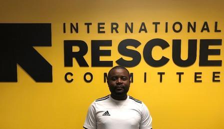 Chrisper stopped by the IRC in Atlanta office.
