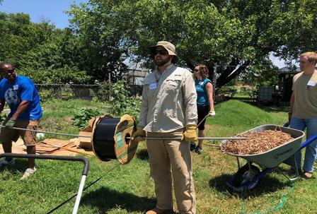 Pioneer employees working hard.