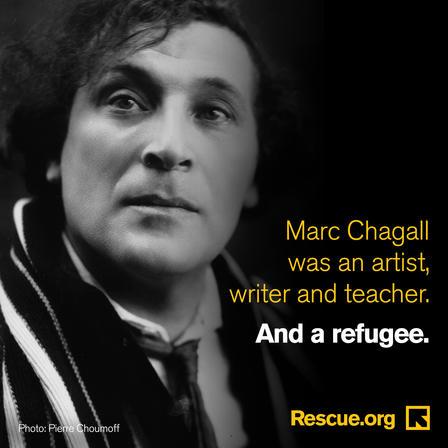 Marc Chagall refugee
