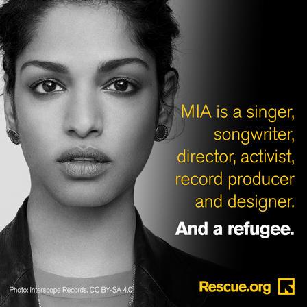 M.I.A. refugee
