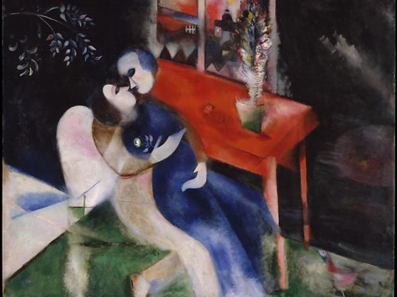 Marc Chagall, The Lovers