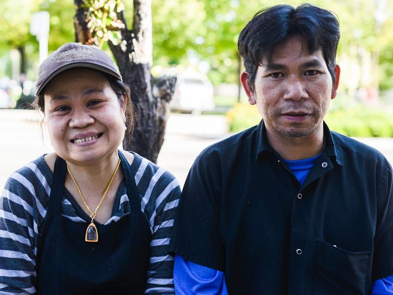 Yupin and Wichai work with the International Rescue Committee (IRC) in Salt Lake City to preserve their restaurant during the pandemic.