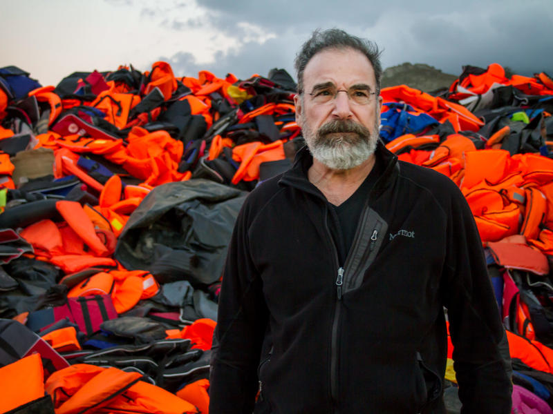 Mandy Patinkin in Lesbos, Greece