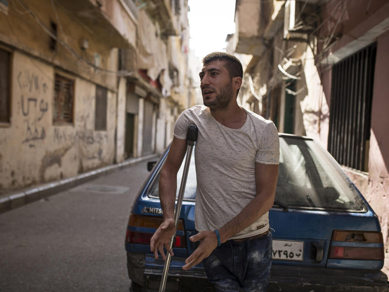 Mohamed on the streets of Beirut
