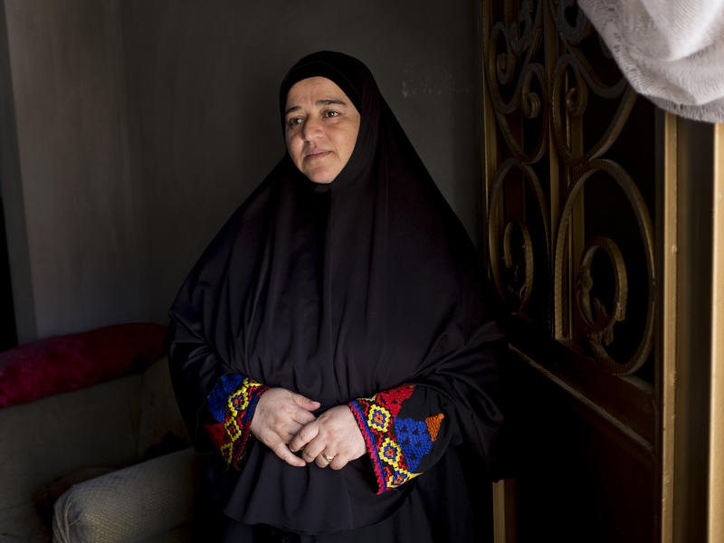 50-year-old Raqia fled her Syrian hometown for Jordan