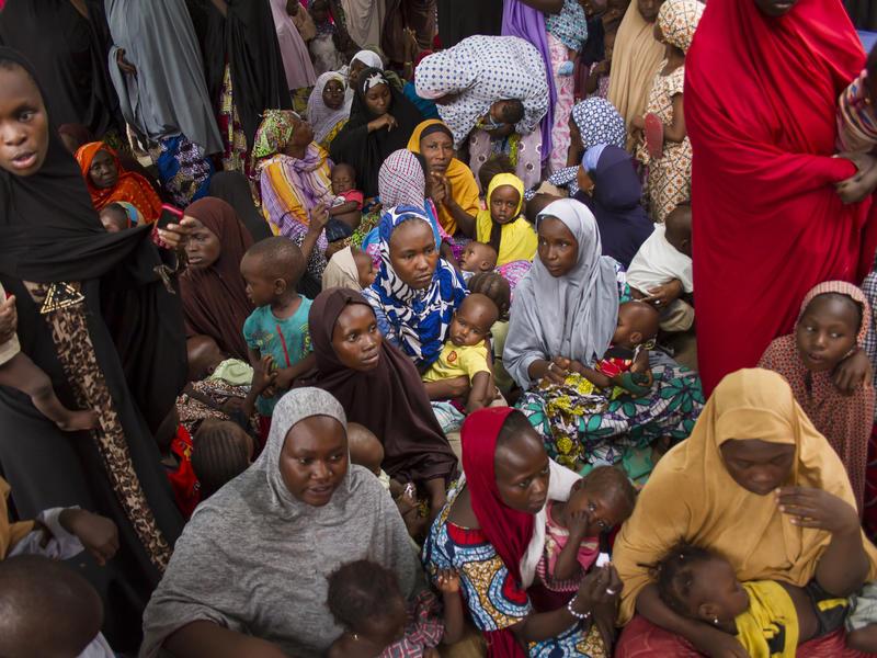 women children nutrition clinic health famine nigeria maiduguri
