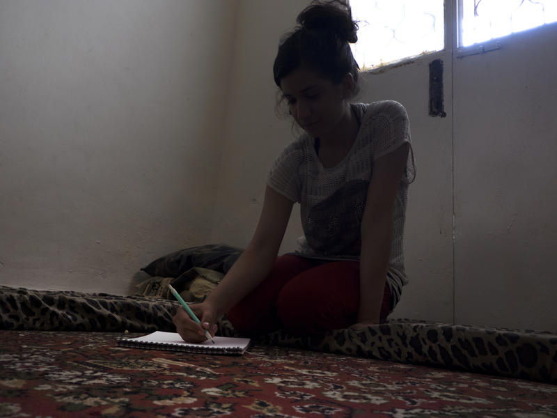 16-year-old Hiba from Aleppo