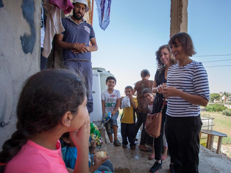 Rashida Jones in Lebanon