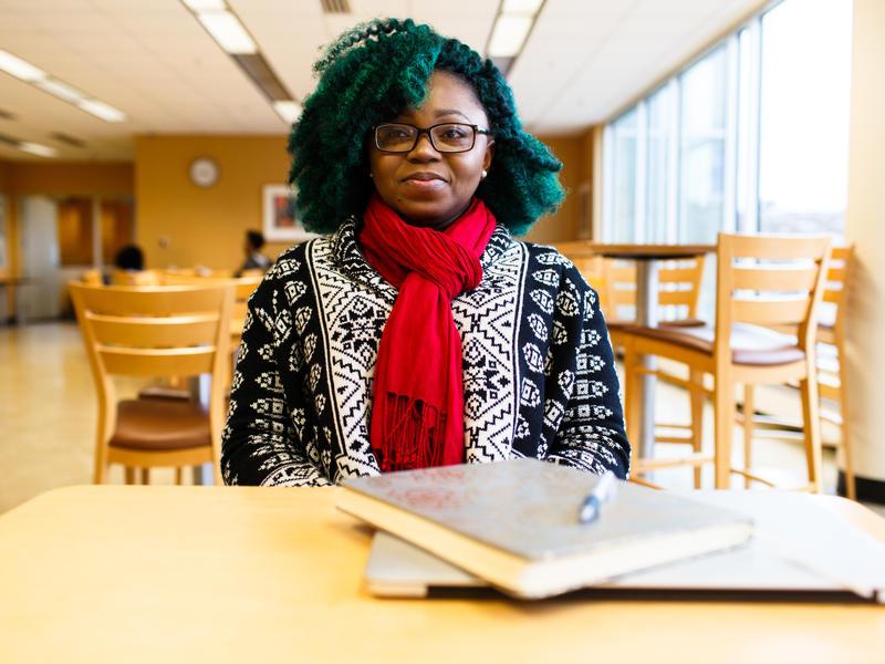Elizabeth Fofana at University of Baltimore