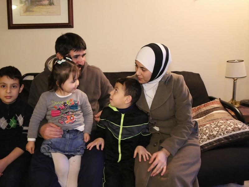 Al Jbawi family in Baltimore