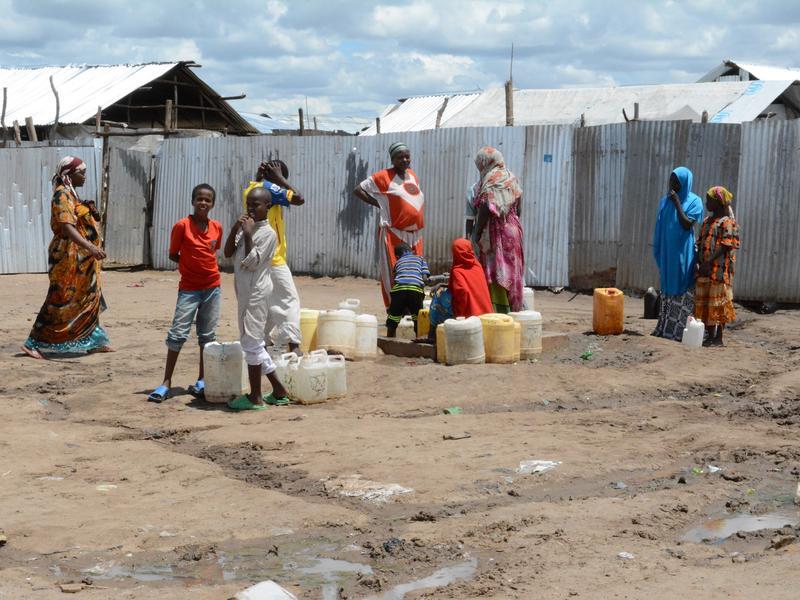 water kenya cholera refugees