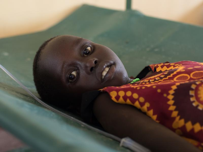 refugees cholera treatment