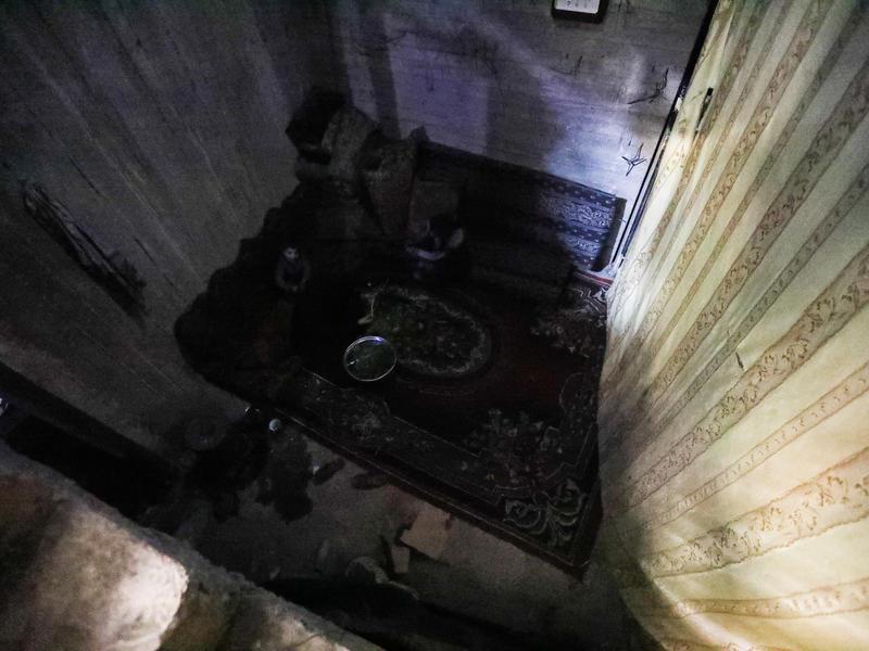 A underground bunker in Eastern Ghouta