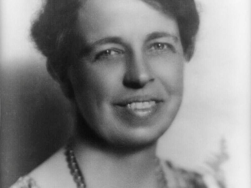 Portrait of Eleanor Roosevelt