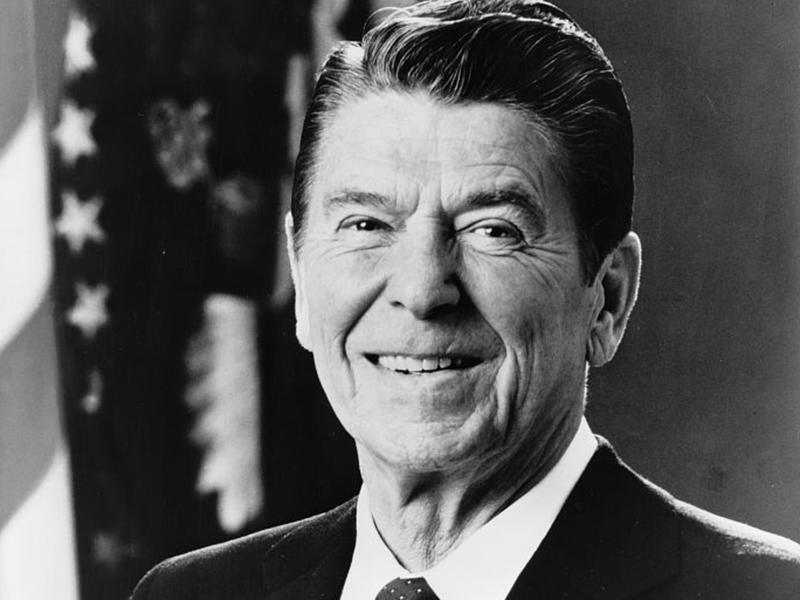Portrait of Ronald Reagan