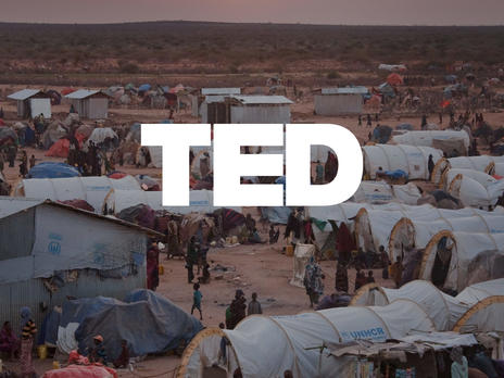 TED talk with David Miliband