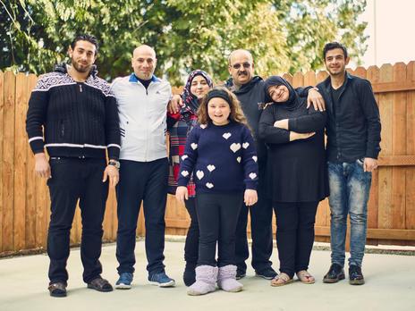 A family made whole again