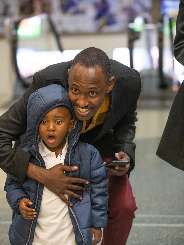 Congolese refugees wait to be reunited with family in Boise
