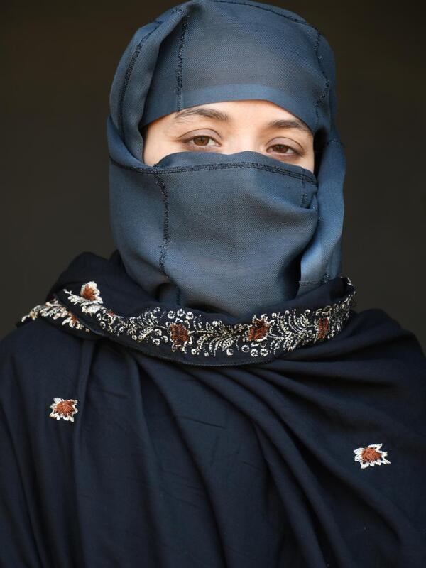 A portrait of Karima Sultani