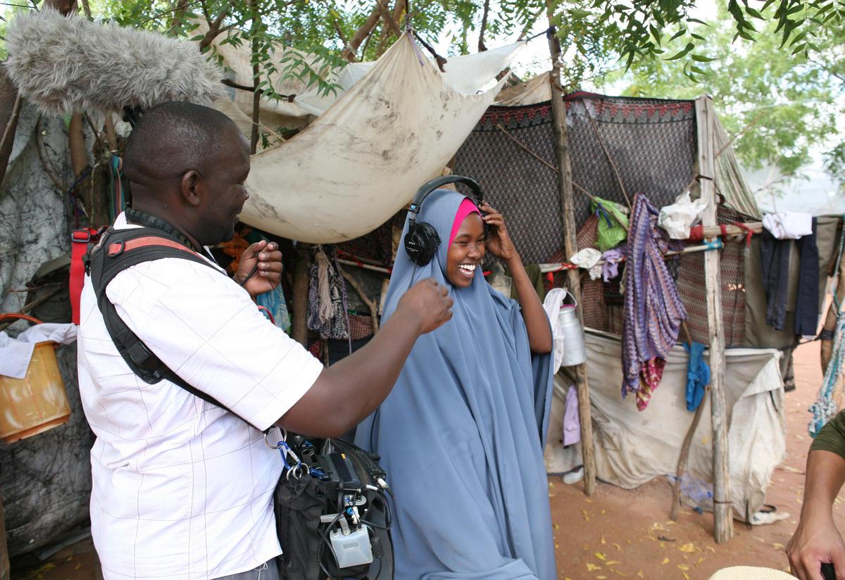 Nasro in Dadaab refugee camp Photo: Martha Adams