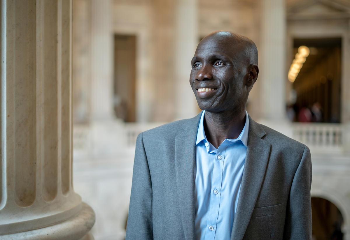 Timothy Ogatu South Sudanese refugee