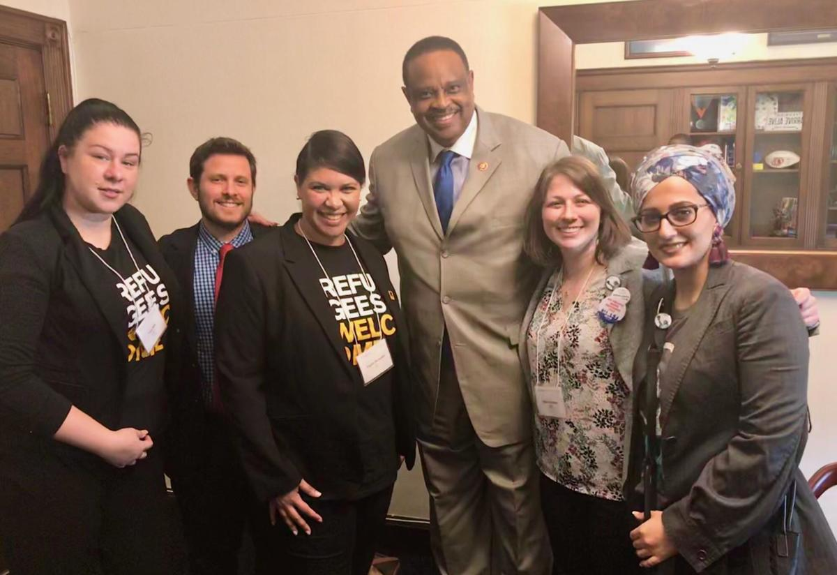 The group also met with Representative Al Lawson while in DC.