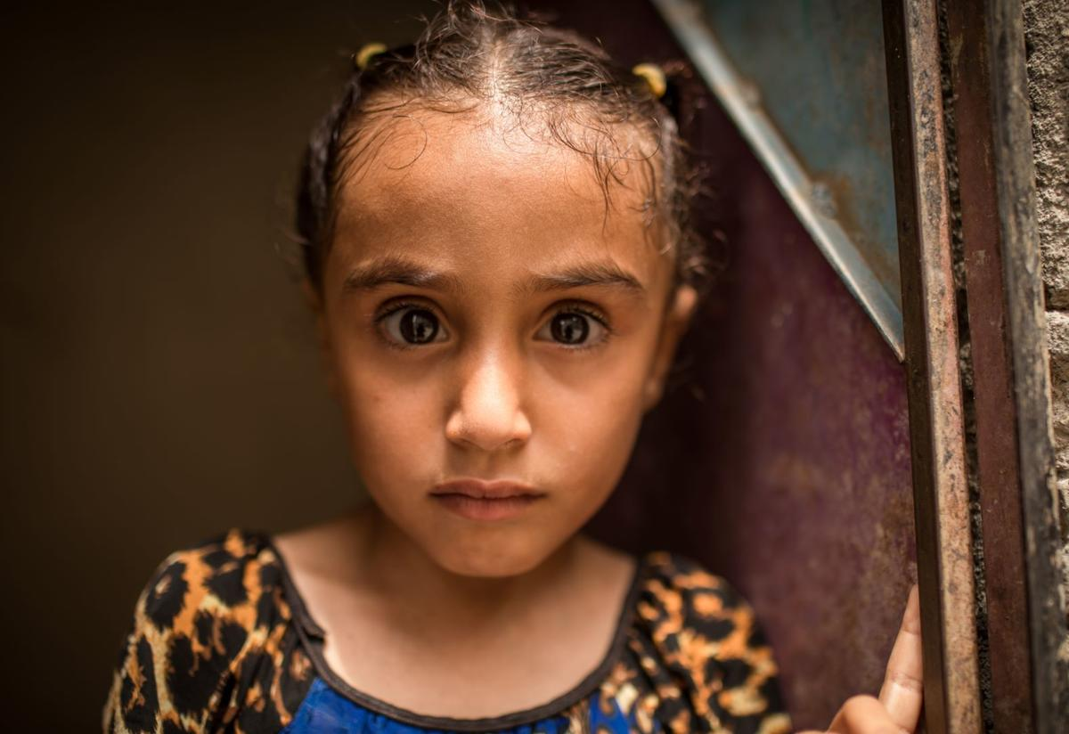 Dima, a young girl in Yemen
