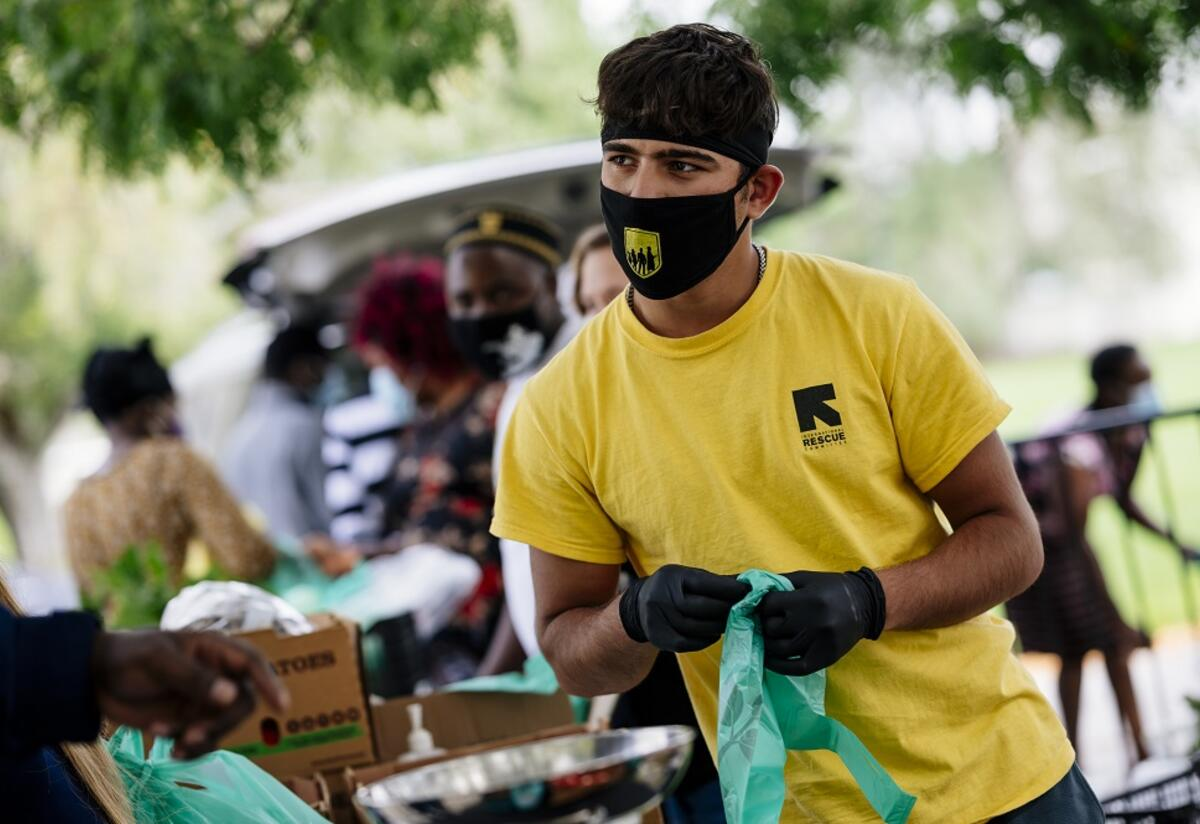 The International Rescue Committee (IRC) in Salt Lake City speaks about how the office has been responding to the pandemic.