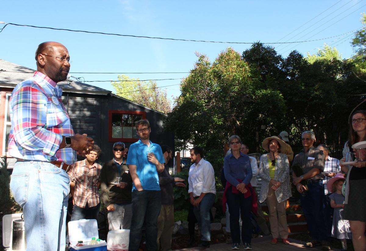 Wilmot Collins speaks with Montana voters.