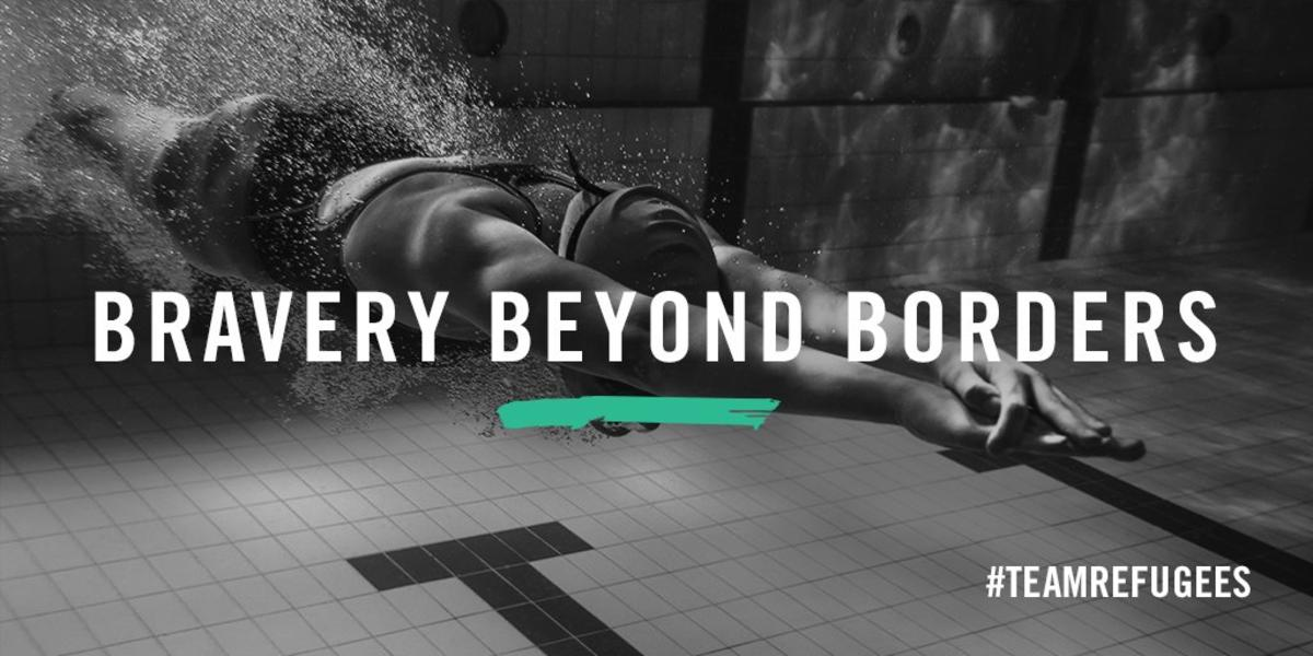 Syrian refugee Yusra Mardini wins 100m butterfly heat in Rio Olympics