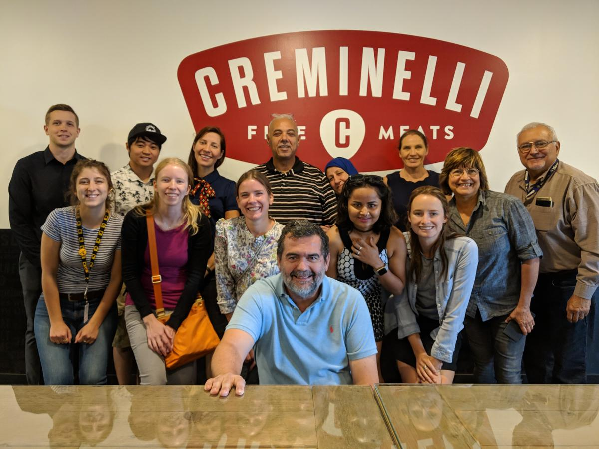 A program of the International Rescue Committee, Spice Kitchen Incubator entrepreneurs and staff attended engaging and instructional workshops hosted by Creminelli Fine Meats.
