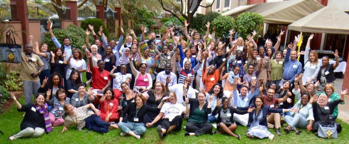 51 International Rescue Committee staff joined together in Nairobi for a Gender Equality Conference.