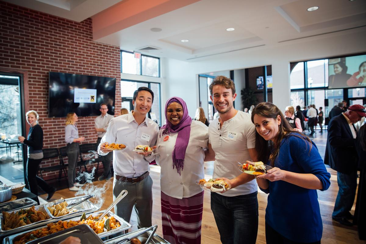 Spice Kitchen Incubator entrepreneurs catered Journey to the Wasatch