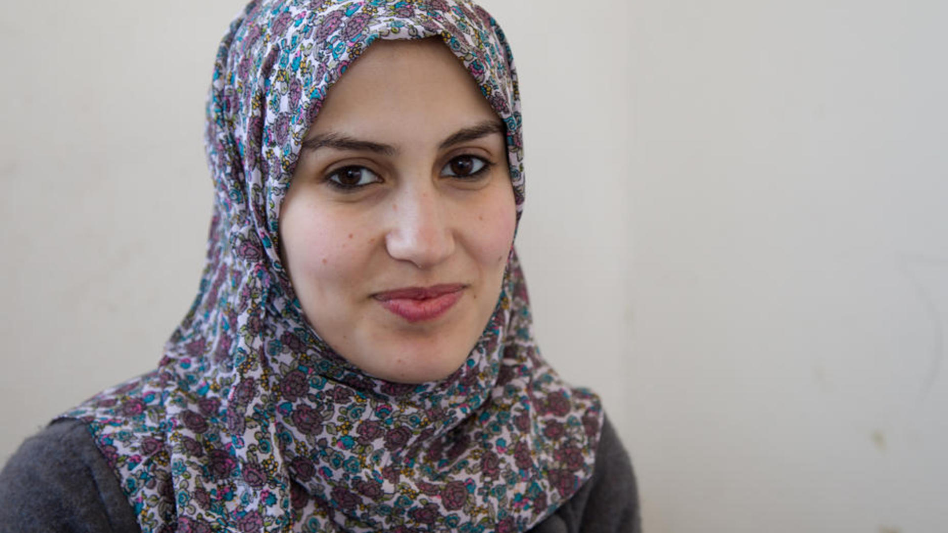 Samah, 23, was eager to start a new life with her family.