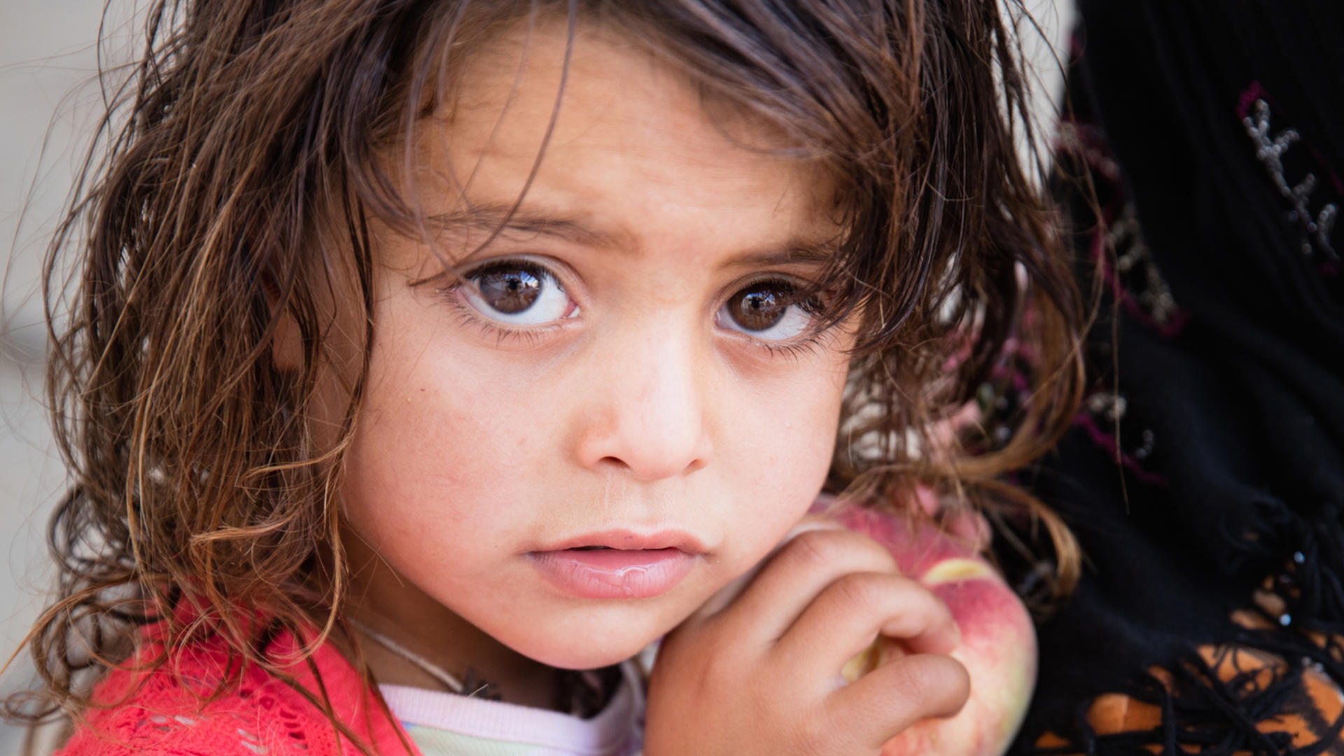 Young Syrian girl in Jordan