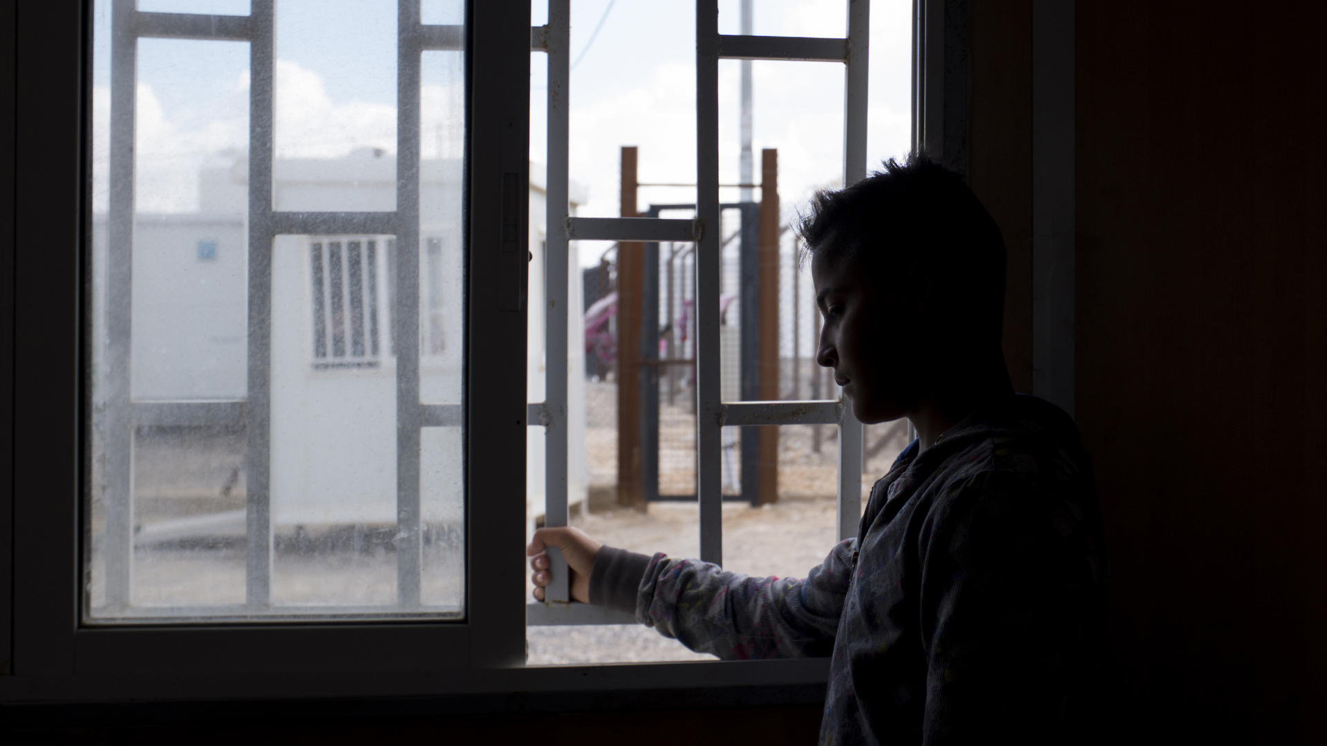 Fifteen-year-old Samir* has been waiting for four months in Jordan's Azraq refugee camp to be reunited with his family.